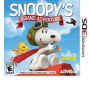 Activision® The Peanuts Movie: Snoopy'S Grand Adventure Game Software, Platformer, Nintendo 3DS (77088)