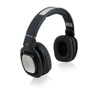 Adesso® Xtream H3B Stereo Bluetooth Rotatable Over-the-Head DJ Headphones with Mic, Black