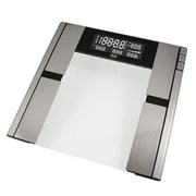 American Weigh Scales Quantum Body Fat and Water Scale, Silver, 396 lbs.