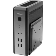 Antec® Slimline Desktop Computer Case, 2xBay, for Mini ITX Motherboard (ISK 110 VESA)