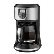 Black & Decker™ CM4000S 12 Cup Programmable Coffee Maker, Black/Stainless Steel