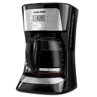 Black & Decker CM2020B 12 Cup Programmable Coffee Maker, Black 2110117