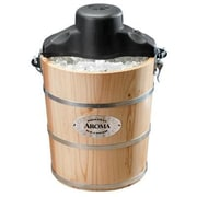 Aroma® 6 qt. Traditional Ice Cream Maker, Pine (AIC-206EM)