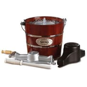 Aroma® 4 qt. Traditional Ice Cream Maker, Mahogany Brown (AIC-244)