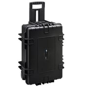 B&W Type 6700 Outdoor Case with Removable Padded Partition Inserts, Black