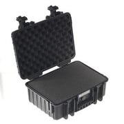 B&W Type 3000 Outdoor Case with Removable Foam Insert, Black