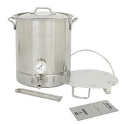 Bayou Classic® 800-408 8 Gallon 6-Piece Stainless Steel Brew Kettle Set, Silver