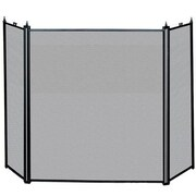 "Blue Rhino® Uniflame® 52"" 3-Fold Fireplace Screen, Black (S31030)"