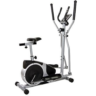 Body Flex Body Champ 2-in-1 Cardio Dual Trainer, Black/Silver (BRM2720) 2111057