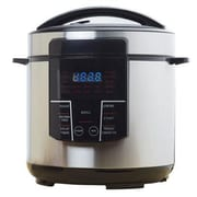 Brentwood 6 qt. Electric Pressure Cooker, Silver/Black (EPC626)