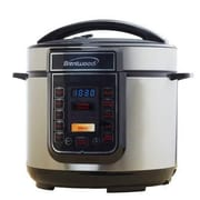 Brentwood 5 qt. Electric Pressure Cooker, Silver/Black (EPC526)
