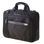 "Codi® Protege X2 Black Ballistic Nylon Double Compartment Case for 15.6"" Laptop (C1005)"