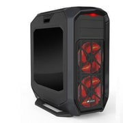 Corsair® Graphite Series™ 780T Window Full-Tower Computer Case, Black, 12xBay, for ATX Motherboard (CC-9011063-WW)