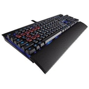 Corsair® K70 USB Wired Cherry MX Red/Blue Mechanical Gaming Keyboard, Black