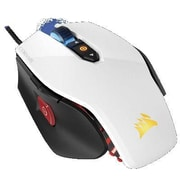 Corsair® CH9000110NA Gaming M65 RGB USB Laser Gaming Mouse, White