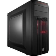 Corsair® Carbide Series® SPEC-02 Red LED Window Mid-Tower Computer Case, 7xBay, for Mini ITX Motherboard (CC-9011057-WW)