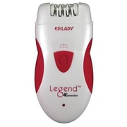 Epilady® Legend 4 Rechargeable Epilator, White/Red (EP81033A)