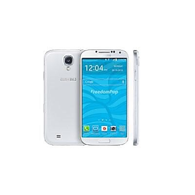 FreedomPop Samsung Galaxy S4 5 Smartphone, 16GB, White (SAM-L720WTR)