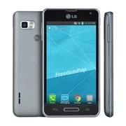 """FreedomPop LG Optimus F3 4"""" Smartphone, 4GB, Silver (LG-LS720VSLRB)"""