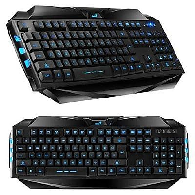 Genius Scorpion K5 31310469100 USB Wired Gaming Keyboard, Black