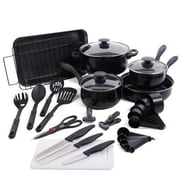 Gibson® Carbon Steel 30-Piece Cookware Set (91924.3)