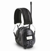 GSM Walkers GWPRDOM Digital AM/FM Radio Muff with Mic, Black