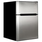 Haier Compact Refrigerator with True-Freezer Compartment, 3.2 cu. ft. (HC31TG42SV)