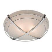 "Hunter® Halcyon 6.45"" x 7.78"" x 8.35"" Contemporary Bathroom Exhaust Fan with Light, Cast Chrome (81030)"
