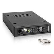 "Icy Dock® ToughArmor EX 2.5""/3.5"" Internal SATA/SAS HDD/SSD Mobile Rack Drive Bay Adapter, Black (MB491SKLB)"