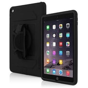 Incipio® IPD261BLK Capture Plextonium Polycarbonate Ultra Rugged Case for iPad Air 2, Black