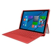 Incipio® MRSF083RED Feather Hybrid TPU Rugged Case for Microsoft Surface 3, Red