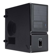 Inwin C Series Mid-Tower Computer Case, 9xBay, for Micro ATX/ATX Motherboard (C653.CH350TS3)