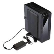 Inwin BQ Series SFF Slim Computer Case, 2xBay, for Mini ITX Motherboard (BQS656.DD120BL)