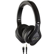 JVC HASBT200X Elation XX Stereo Bluetooth Over-the-Head Headset with Mic, Black