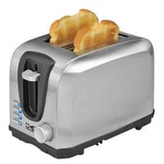 Kalorik 2 Slice Cool Touch Toaster, Black/Silver (TO37895SS)