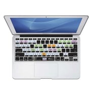KB Covers OSX-M11-CB-2 OS X Shortcuts Keyboard Cover for MacBook Air