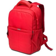 Kensington® Red Nylon Laptop Backpack (LS150)