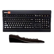 Keytronic DESIGNERP2 PS/2 Wired Keyboard, Black