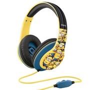 KIDdesigns UIM40MN.FX Minions On-the-Head Headphones with Mic, Multicolor