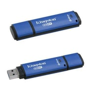 Kingston® DTVP30AV DataTraveler® Vault Privacy 3.0 Anti-Virus 64GB USB 3.0 Flash Drive