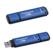 Kingston® DTVP30AV DataTraveler® Vault Privacy 3.0 Anti-Virus 32GB USB 3.0 Flash Drive