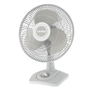 "Lasko® 18 1/2"" x 14 1/4"" x 11 1/2"" Premium Table Fan, White (2501)"