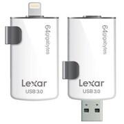 Lexar™ LJDM20I JumpDrive® M20i 64GB USB 3.0 Flash Drive