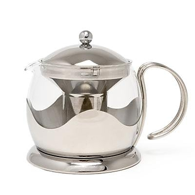 Lifetime Brands Stainless Steel Le Teapot, 4 Cup (TM980000) 2111085
