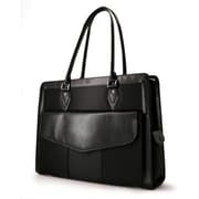 "Mobile Edge Geneva Black Microfiber Handbag for 17.3"" Laptop (MEGN1L)"