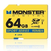Monster Digital® SDFSP-0064-A Sport 90 64GB Class 10 SDXC Memory Card