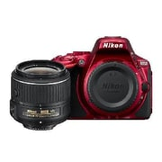 Nikon® D5500 DSLR Camera with 18-55mm VR II Lens Kit, Red