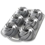 Nordicware® Aluminum Heritage Bundtlette Cake Pan, 4 Cup (88037)