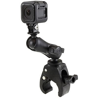 RAM Mount Small Tough-Claw Mount with Custom GoPro Hero Adapter 2112290