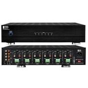 OSD Audio® MX1260 12 Channel Multi-Zone Bridgeable Amplifier, Black